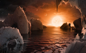 NASA üzerinde su = hayat olabilecek birbirine çok yakın gezegenler buldu