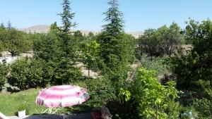 bahçede mangal